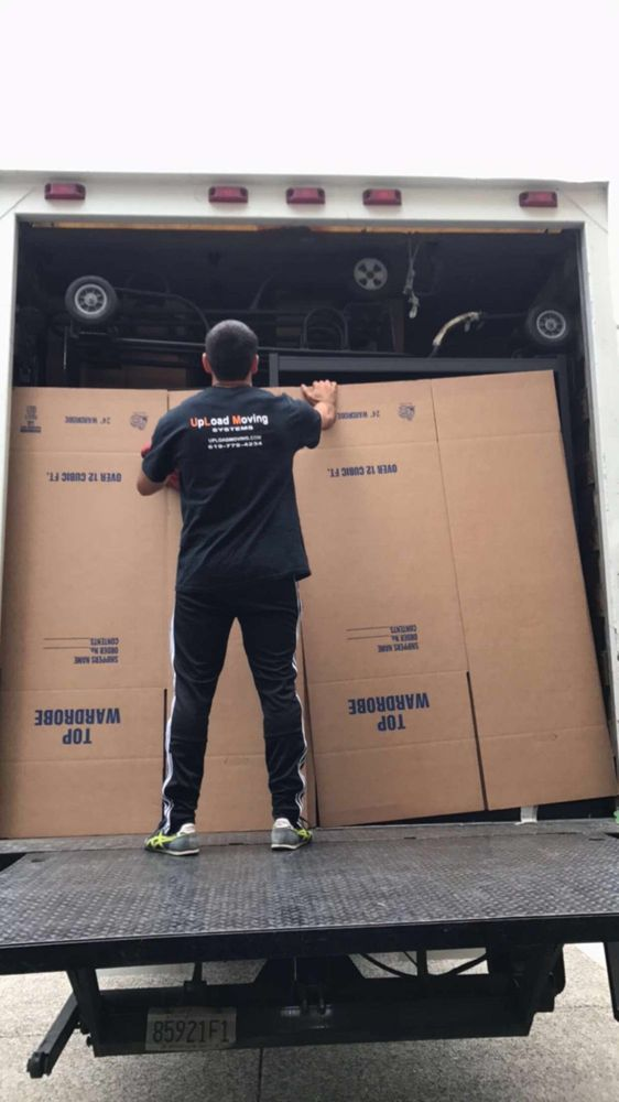San Diego moving company, full moving service