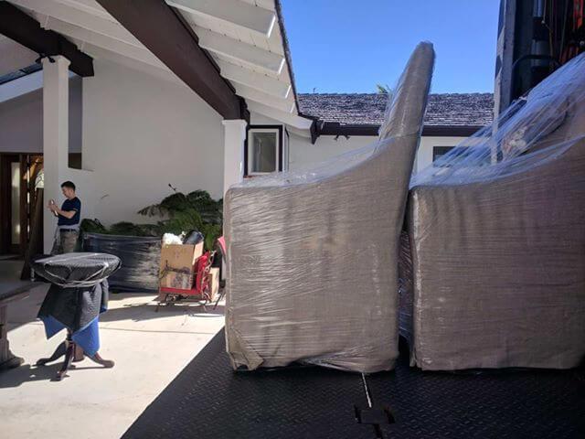 moving job rancho santafe